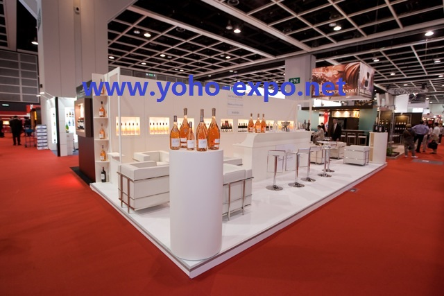 Exhibition Stand Design Hong Kong : Hktdc hong kong international wine and spirits fair booth design